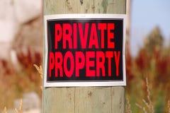 typowa włoska rada własność prywatna Zdjęcie Stock