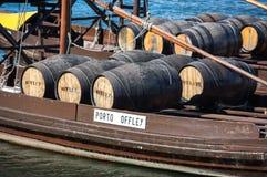 Typowa wino łódź w Douro rzece Obraz Stock