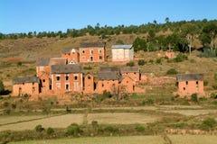 Typowa wioska Zdjęcia Stock