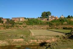 Typowa wioska Fotografia Stock