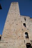 Typowa wioska San Gimignano Obrazy Royalty Free