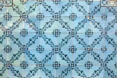 Typowe dekoracyjne płytki, antykwarskie płytki wyszczególniają Lisbon, sztukę i d, Fotografia Stock