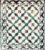 Typowe Portugalskie płytki, Azulejo, hiszpański, Błękitni, włoch i mo obraz stock