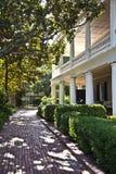 Typowego wiktoriański miastowy dom w Charleston Obrazy Royalty Free