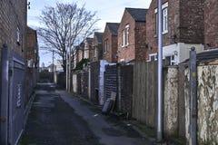 typowi angielscy domy zdjęcie royalty free