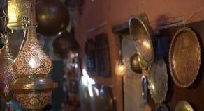 Typowi artefakty w alejach casbah Fotografia Royalty Free