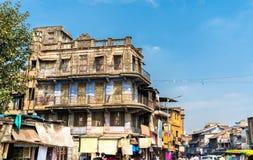 Typowi budynki w Ahmedabad, Gujarat -, India Fotografia Stock