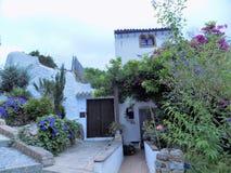 Typowi domy Frigiliana Zdjęcie Royalty Free