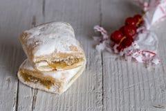 Typowi hiszpańscy cukierki homemade obrazy royalty free