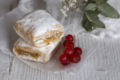 Typowi hiszpańscy cukierki homemade zdjęcie stock