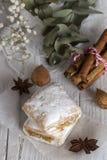 Typowi hiszpańscy cukierki homemade zdjęcie royalty free