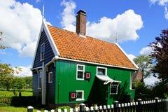Typowi holenderów domy. Zaandam, Holandia Obraz Stock