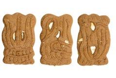 typowi holenderscy ciastek speculaas Obraz Royalty Free