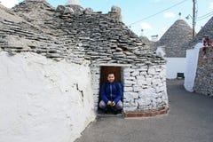 Typowi kamieniarka budynki Zdjęcia Royalty Free