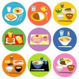 Typowi posiłki w Japonia 02 Obraz Stock