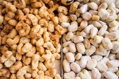 Typowi siciian desery z migdałową pastą zdjęcia royalty free