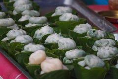 Typowi Tajlandzcy desery Fotografia Royalty Free