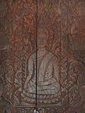 Typowi tradycyjni wzorów ornamenty, drzewo, istota ludzka, zwierzęta i goddes postać dla buddhism świątyni dekoraci, Obrazy Royalty Free