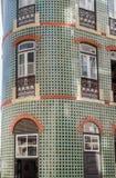 Typowo kafelkowy dom w Lisbon zdjęcie royalty free