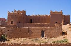 Typowy berber dom, Maroko Obrazy Stock