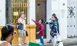 Typowy Cartagena Colombia zdjęcie stock