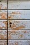Typowy dalmatian dom - błękitny drzwi obrazy stock