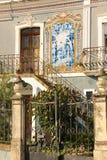 typowy dom Coimbra Portugalia zdjęcie stock