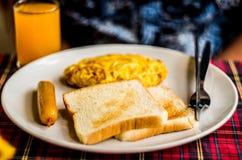 Typowy europejski śniadanie Obrazy Stock