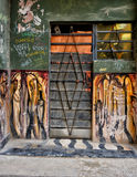 Typowy Hawański drzwi Obrazy Stock