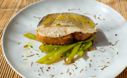 Typowy hiszpański codfish pincho Fotografia Stock