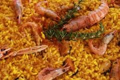 Typowy Hiszpański paella zdjęcia royalty free