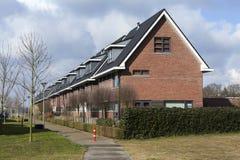 Typowy Holenderski budynek mieszkalny fotografia royalty free