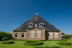 Typowy Holenderski dom wiejski fotografia stock