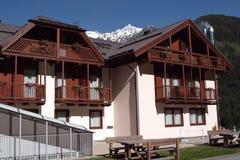 Typowy hotel północny Włochy fotografia stock