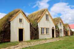 Typowy Islandzki dom Obrazy Stock