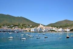 Typowy krajobrazowy śródziemnomorski raj Zdjęcie Stock