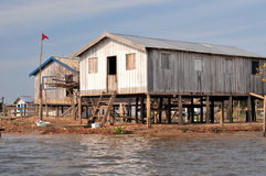 typowy lasowy Amazon dom Fotografia Stock
