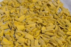Typowy makaron Langhe: agnolotti Obrazy Stock