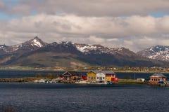 typowy Norway krajobrazu zdjęcia stock