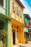 Typowy Phuket dom Zdjęcia Stock