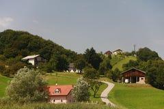 typowy piękny krajobrazowy Slovenia Zdjęcia Stock