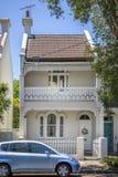 typowy tarasu dom w Sydney Australia Obrazy Royalty Free