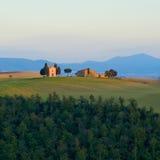 typowy Tuscan krajobrazu Obrazy Royalty Free