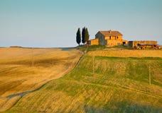 typowy Tuscan krajobrazu Obrazy Stock