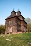 Typowy ukraiński antykwarski ortodoksyjny kościół Fotografia Stock