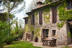 Typowy włoski stary gospodarstwo rolne obraz royalty free