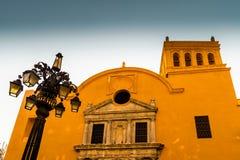 Typowy widok Cartagena Kolumbia fotografia royalty free