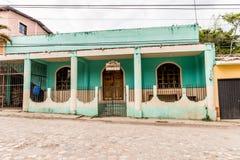 Typowy widok w Copan miasteczku w Honduras zdjęcie royalty free