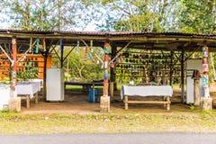 Typowy widok w Costa Rica zdjęcia stock