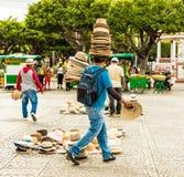 Typowy widok w Granada Nikaragua obraz stock